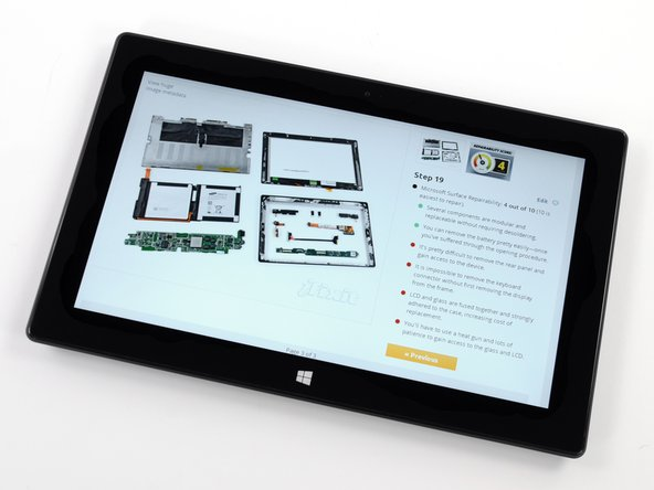 "Image 3/3: 10.6"" ClearType HD Display (resolution of 1920x1080 pixels) with 10 point multitouch"