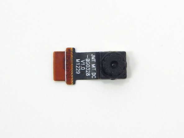 There is an adhesive foam on the backside of the camera that may create some difficulty when removing the camera. Try to pull the camera away from the logic board while pulling it out of the ribbon connector.