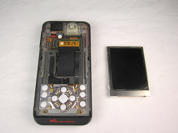 Sony Ericsson W580i LCD Replacement