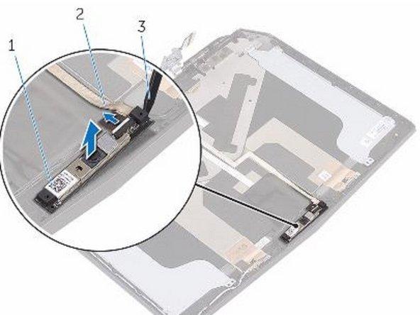 Dell Alienware 13 R2 Reemplazo de cámara