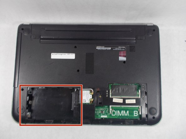 Dell Inspiron 14R-5421 Hard Drive  Replacement