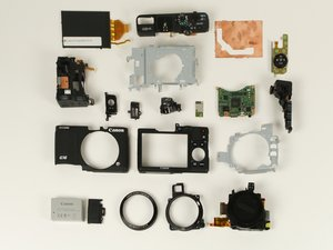 Disassembling Canon PowerShot G16