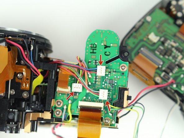 Remove all three wire connectors.