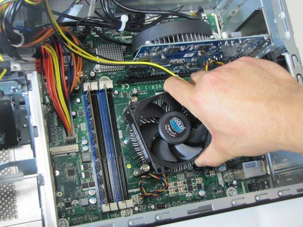 Reemplazo del ventilador de la CPU HP Envy 700-030qe