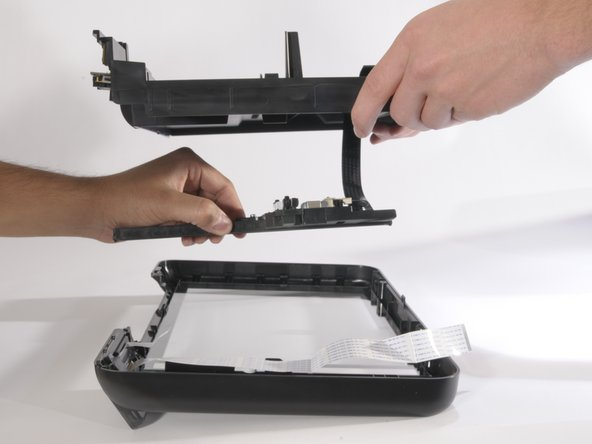HP Photosmart D110a Replacing the Scanner Light Replacement