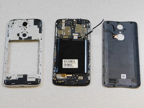 ZTE Blade Spark Disassembly