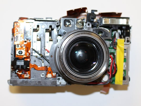 The front of the camera should now resemble the picture shown. (Image 1)