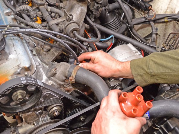 Be sure to pull on the boot and not the wire itself. Spark plug wires are quite fragile and may break easily.