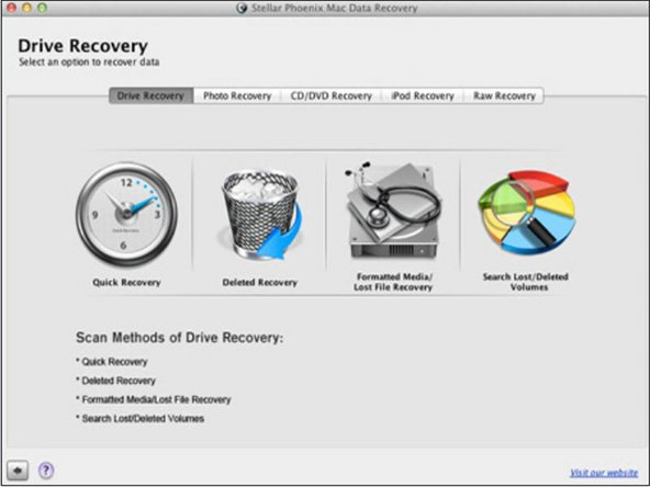 In the software interface, find the 'Deleted File Recovery' feature from the menu and click it to proceed.