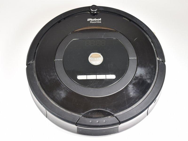 Blue light flashing on robot - iRobot Roomba 770 - iFixit