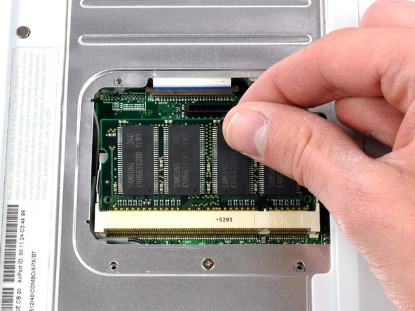Image 2/2: Pull the chip directly out from its connectors.