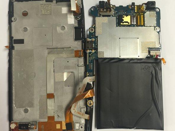 Remove the PCB board and antenna.