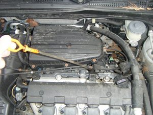 2001-2005 Honda Civic Oil level Check and  oil change