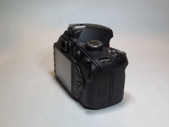 Nikon D3200 Memory Card Replacement
