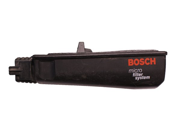 Bosch 3727DEVS Microfilter Dust Canister Replacement