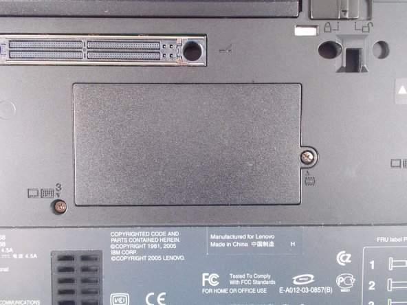 IBM ThinkPad t43 RAM Replacement