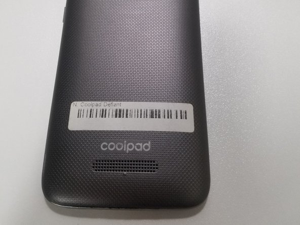 Coolpad Defiant Back Case Replacement