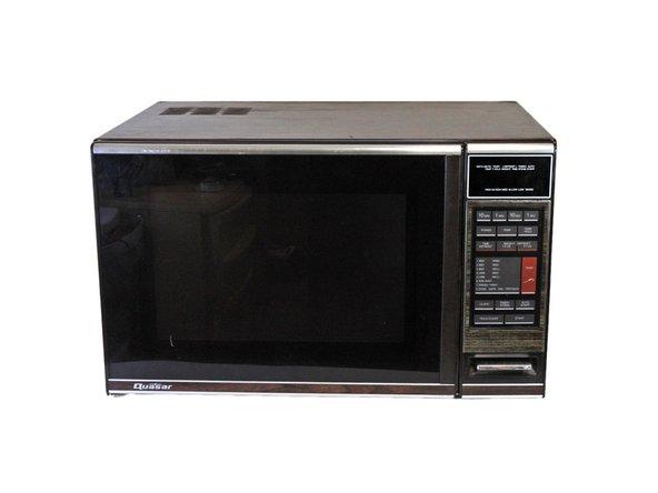 Quasar Microwave Oven Mq7774xw Repair Ifixit