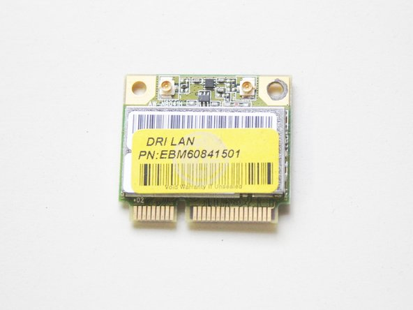 LG Notebook LGC40 A410 WiFi module Replacement