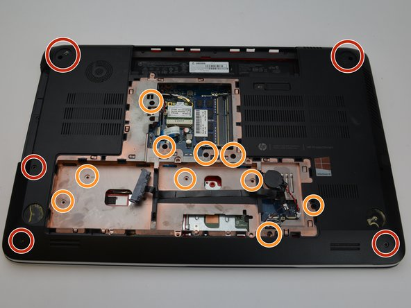 Use a PH1-Screwdriver to remove all the 7mm screws.