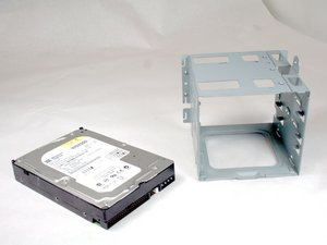 Disassembling HP Compaq dx2000MT Hard Drive