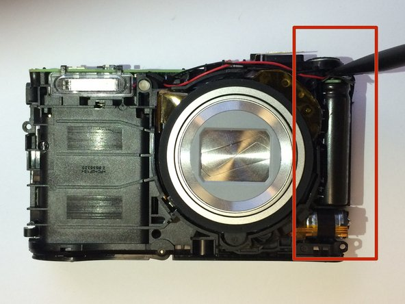 Samsung WB35F Flash Capacitor Replacement