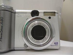 Réparation de l'erreur d'objectif Canon PowerShot E-18