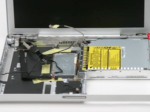 "PowerBook G4 Aluminum 12"" 1-1.5 GHz Optical Drive Replacement"