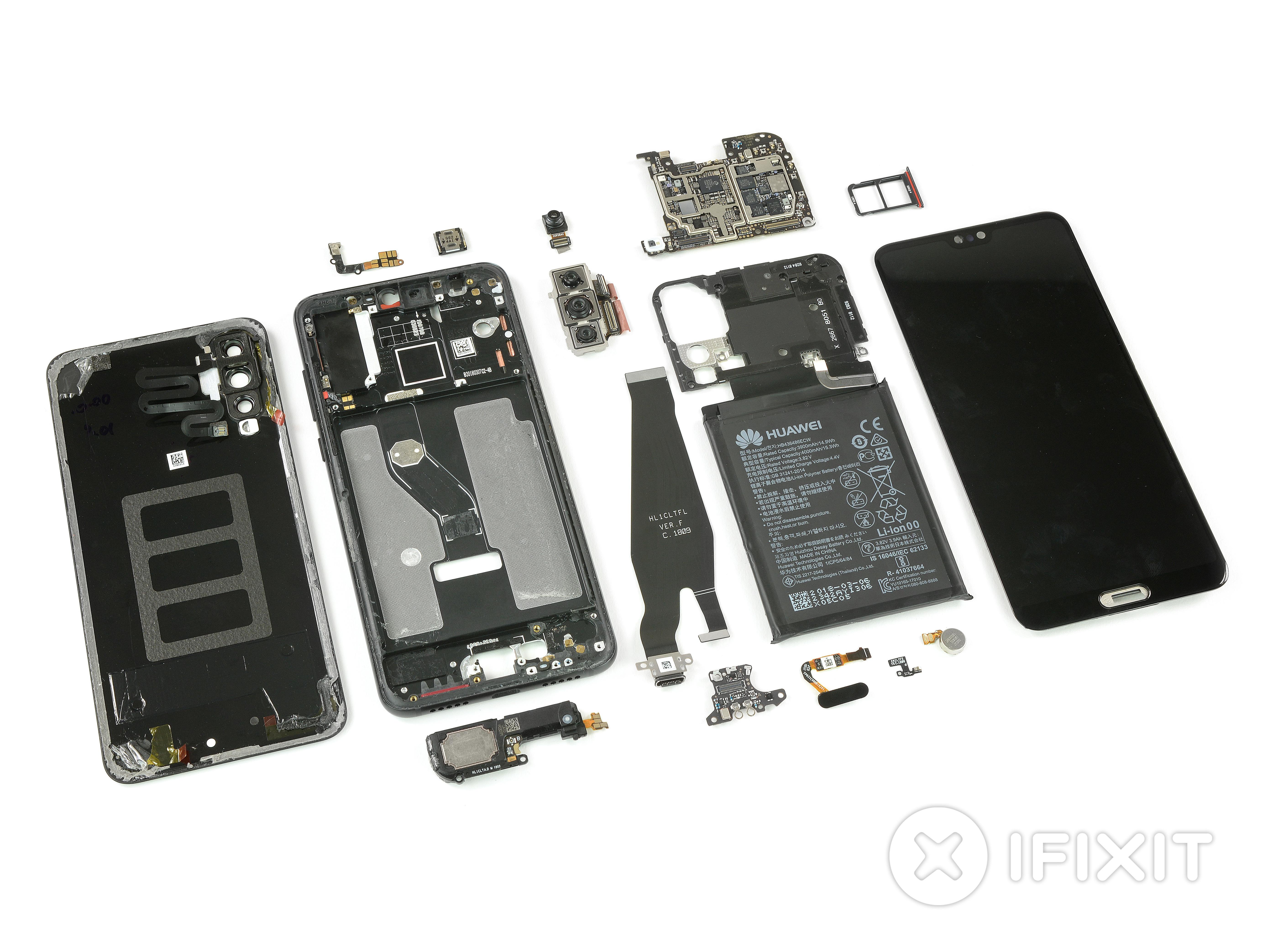 Huawei P20 Pro iFixit Teardown