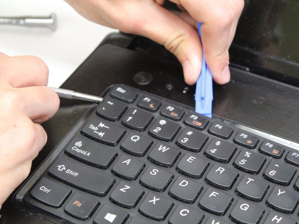 Be careful removing the keyboard to prevent from tearing the delicate connector.