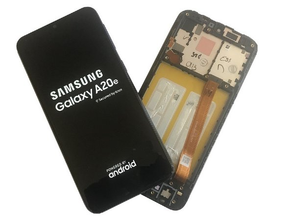 Samsung Galaxy A20e Display Assembly Replacement