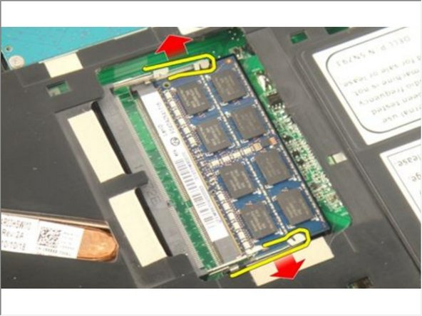 Dell Vostro 3750 Memory Module Replacement