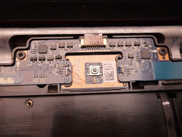 Here's a top and  bottom view of the board with the power on switch and LED status.