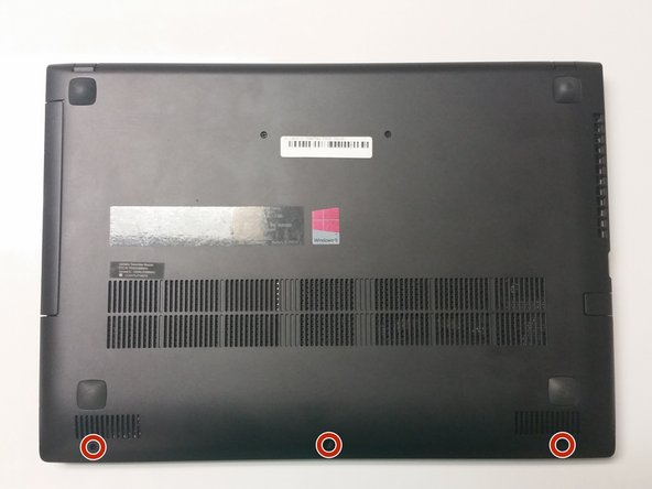 Lenovo IdeaPad P400 Touch Battery Replacement