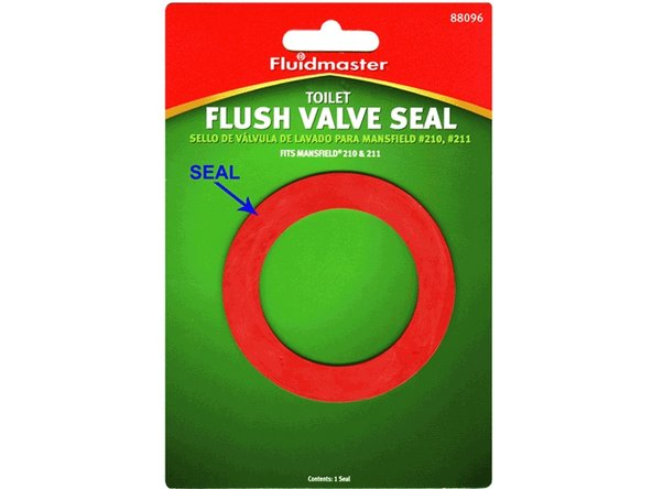 This is the New Valve Seal used in this guide, available at hardware stores and home centers.