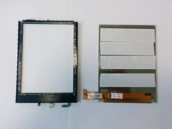 Image 1/3: Remove protective film from the screen