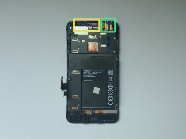 Front Camera and Proximity & Light sensor module