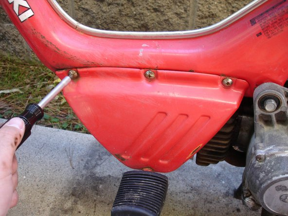 Suzuki Fa50 Moped Teardown