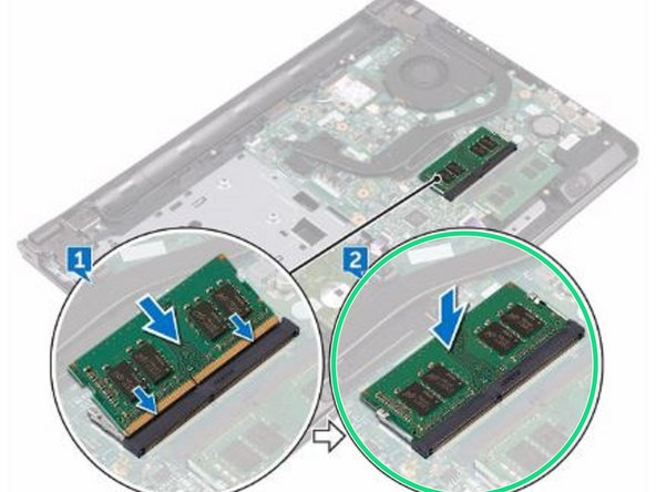 Slide and remove the memory module from the memory-module slot