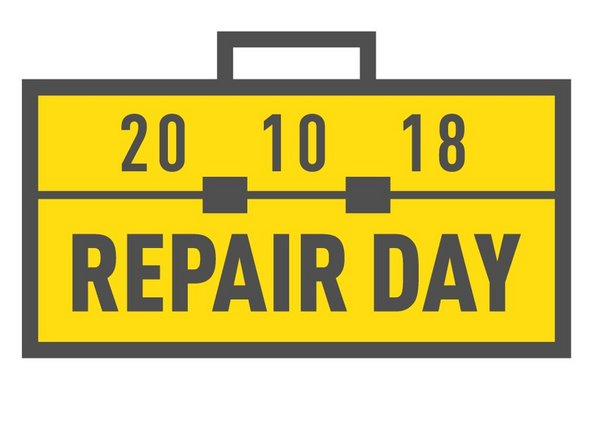 International repair day icon