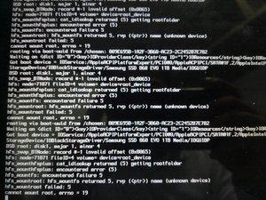 Cannot reinstall OS X on Macintosh HD - MacBook Pro 13