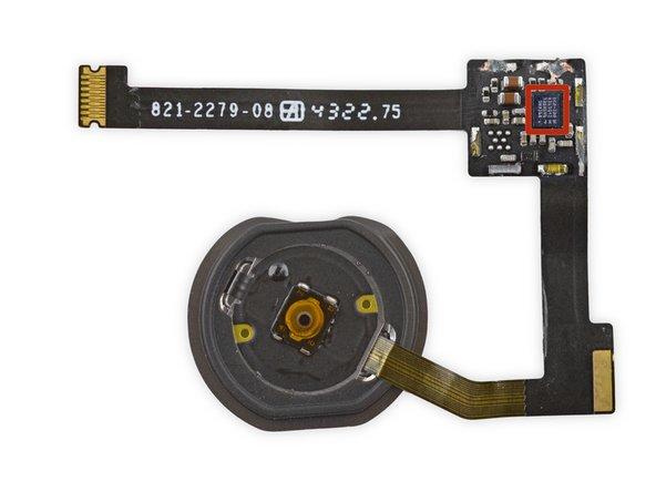 Image 2/3: Биометрический сенсор NXP Semiconductors [https://chipworks.secure.force.com/catalog/ProductDetails?sku=NXP-8416A1|8416A1].