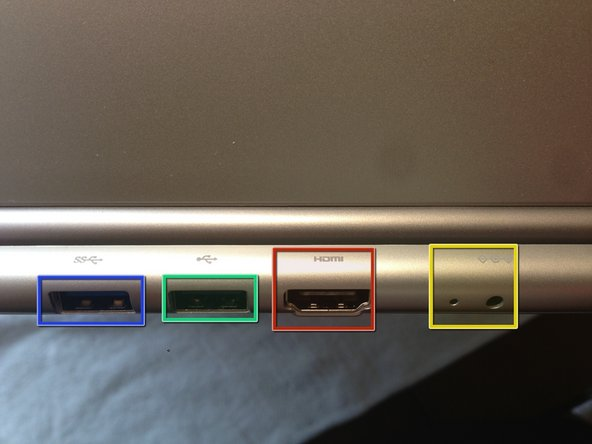 Image 3/3: Ports on the Back: