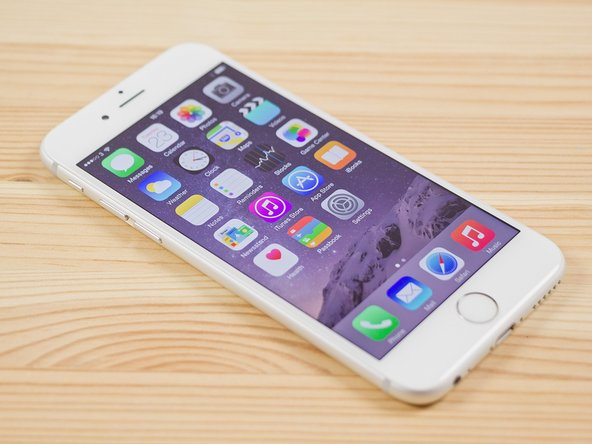 How to fix no image / black display for iPhone 6