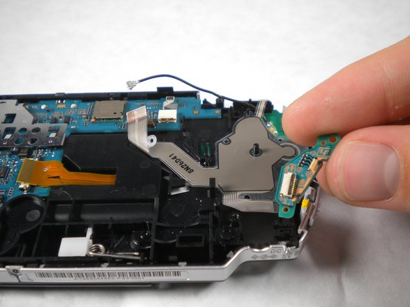Remove the power switch assembly/board.