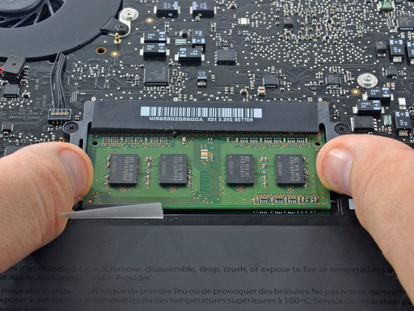 "Remplacement de la RAM du MacBook Pro 13"" Unibody mi-2009"