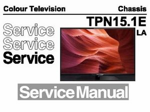 Service manual Philips TV Chassis TLN15.1E