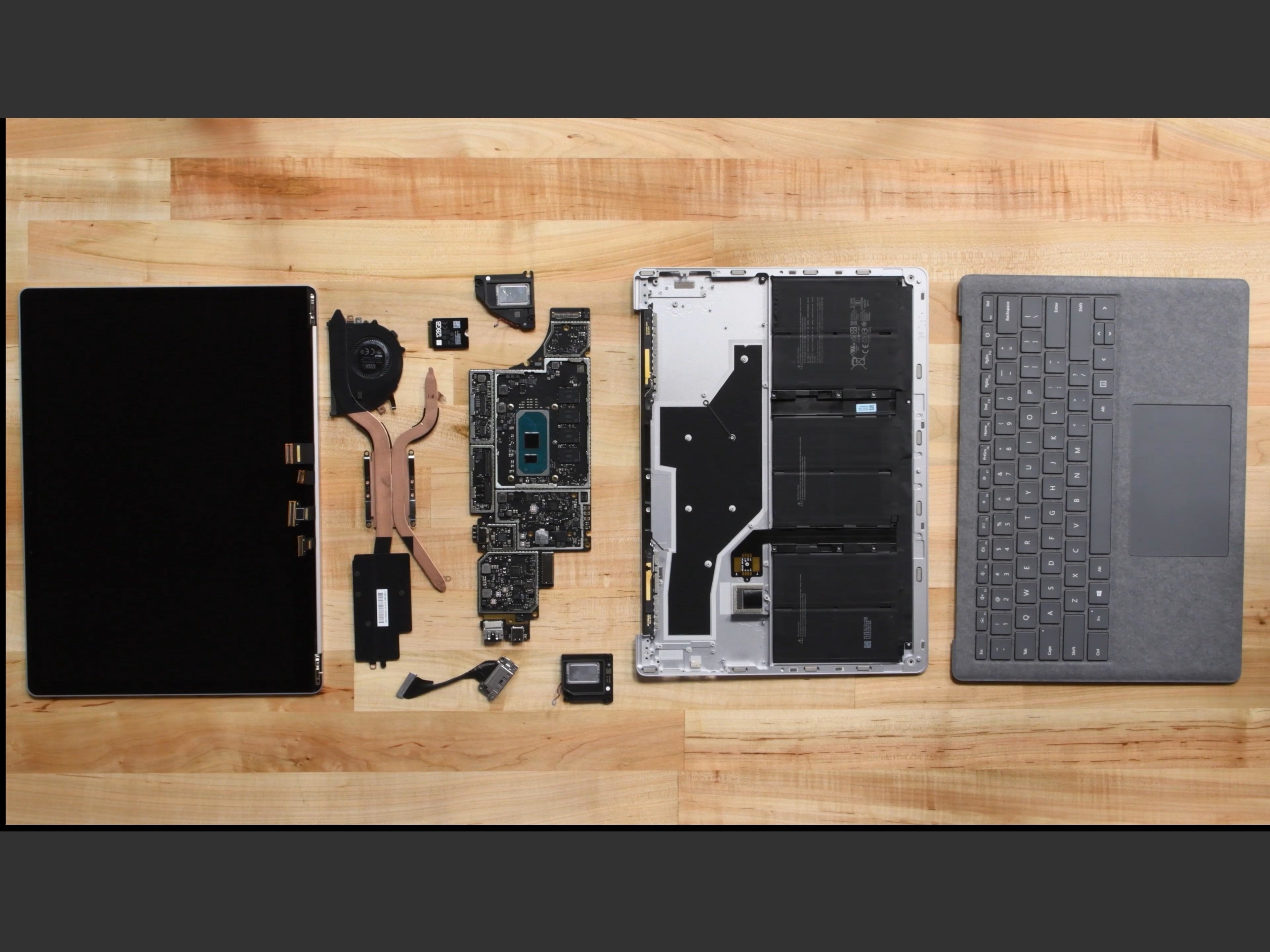 Microsoft Surface Laptop 3 (13.5-inch) Teardown