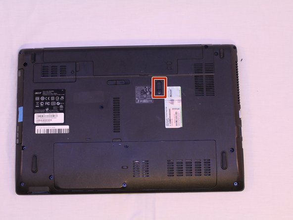 Acer Aspire 5741-5698 Battery Replacement