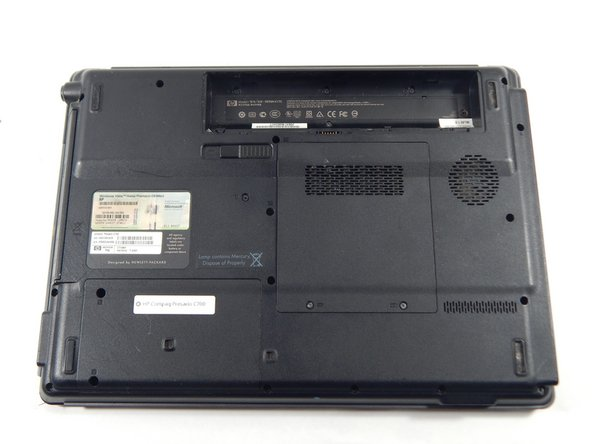 HP Compaq C700 Battery Replacement